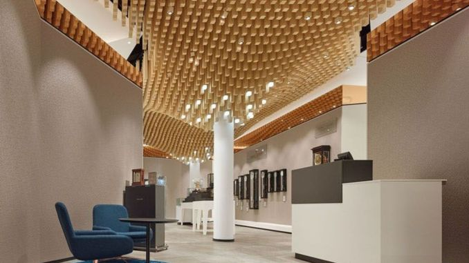 Aesthetic False Ceiling Ideas Gracing Beautiful Decor Of Modern Office Designs Shairoom Com