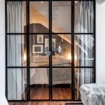 Bright home concepts with modern style of glass partition giving vast interior sense of space Image 1