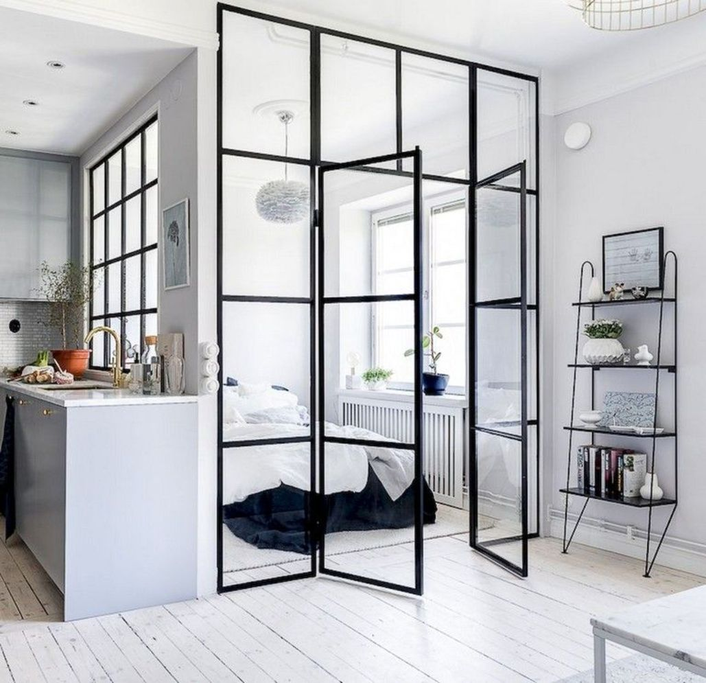 Bright home concepts with modern style of glass partition giving vast interior sense of space Image 19