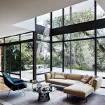 Bright home concepts with modern style of glass partition giving vast interior sense of space Image 8