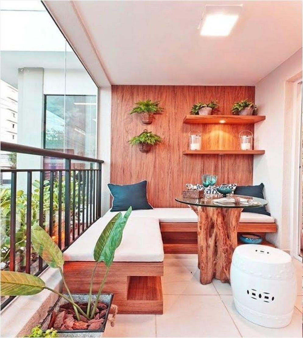Brilliant apartment balcony ideas converted into cozy living space Image 15