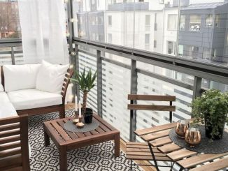 Brilliant apartment balcony ideas converted into cozy living space Image 18
