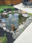 Brilliant landscape decoration of natural small fish ponds that you can make yourself Image 3