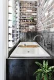 Clever ideas to make exotic interior update with rustic brick wall accents Image 15