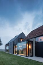 Countryside house with modern Farmhouse exterior design bringing up the traditional style in new classy look Image 11