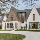 Countryside house with modern Farmhouse exterior design bringing up the traditional style in new classy look Image 22