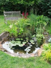 Inspiring small fish pond designs to upgrade the outdoor landscape for more lively and refreshing Image 25