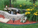 Inspiring small fish pond designs to upgrade the outdoor landscape for more lively and refreshing Image 27