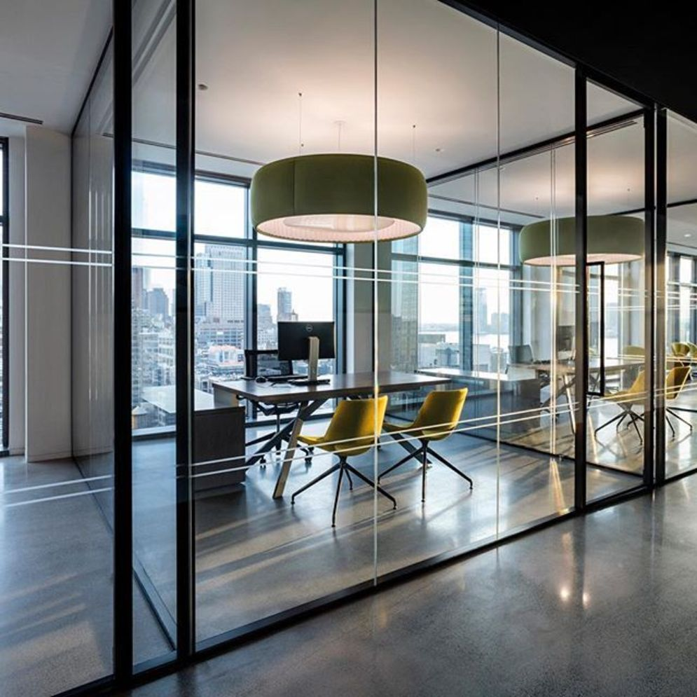 Limitless interior schemes with clever glass partition enlarging wide interior vibes Image 29