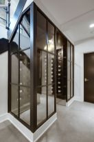 Limitless interior schemes with clever glass partition enlarging wide interior vibes Image 46