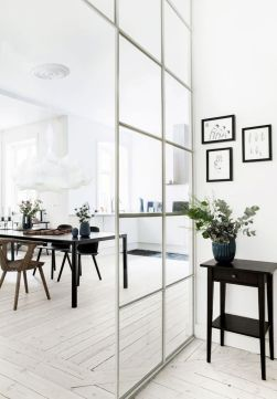 Limitless interior schemes with clever glass partition enlarging wide interior vibes Image 48