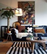 Multitoned interior design highlighting a series of eclectic styles and designs in a harmonious space display concept Image 21