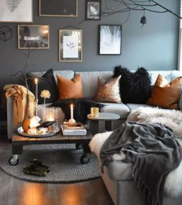 Multitoned interior design highlighting a series of eclectic styles and designs in a harmonious space display concept Image 32