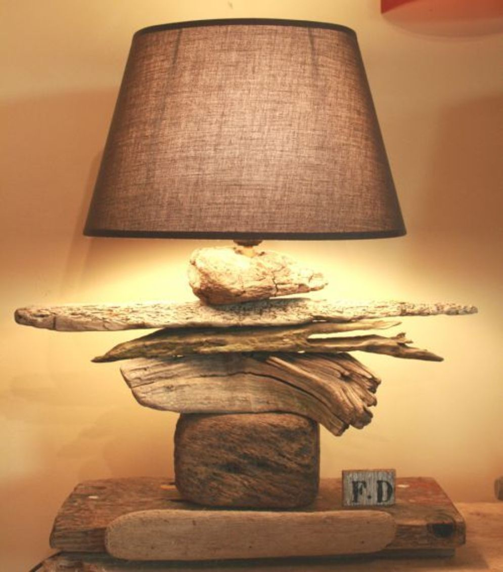 Stunning natural material for Driftwood lamp decoration creating an incredible ambiance Image 18