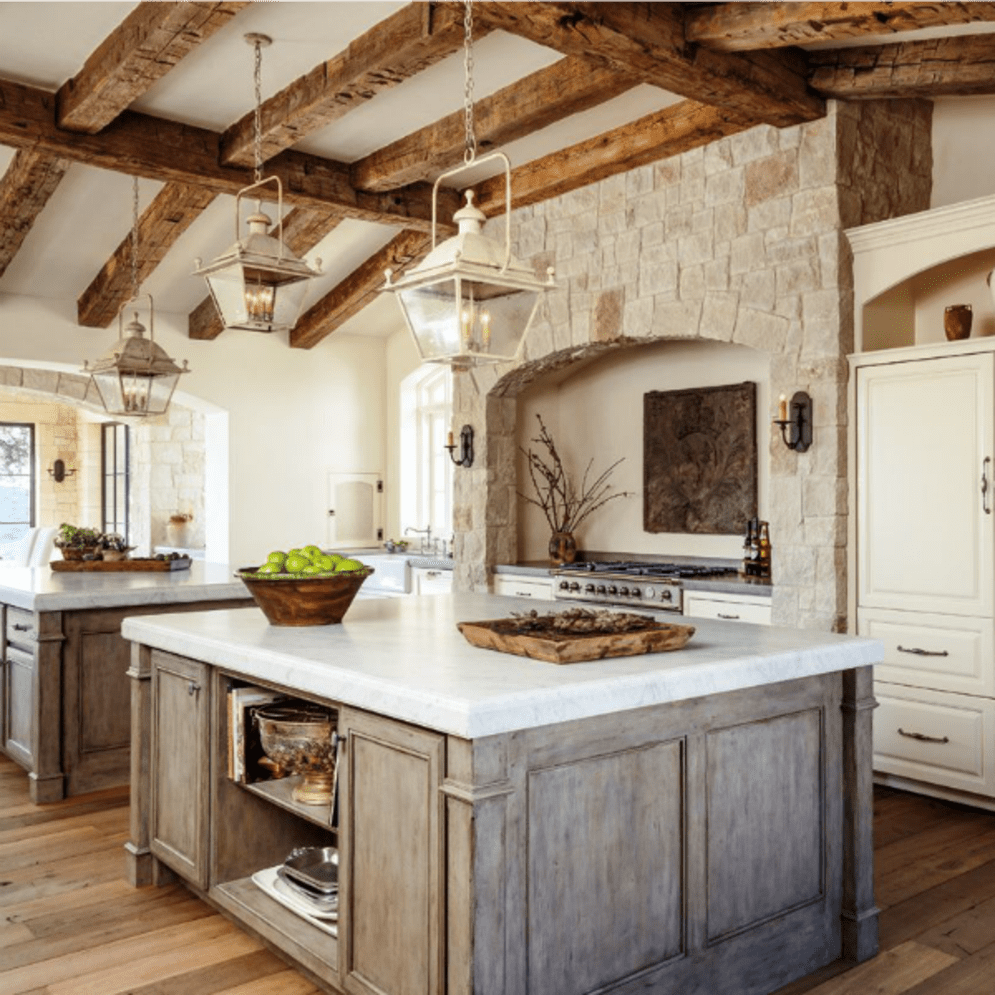Warm and friendly cabin kitchen displaying rustic interior styles providing ideal space for a perfect retreat Image 36
