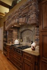 Warm and friendly cabin kitchen displaying rustic interior styles providing ideal space for a perfect retreat Image 37