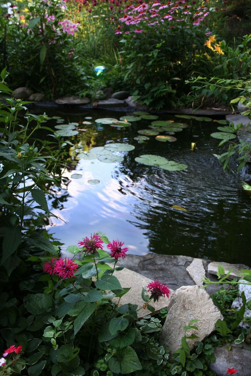 Water garden ideas for more natural backyard feeling with beautiful aquatic plants and ponds Image 34
