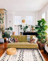 Beautiful Bohemian living style displaying artsy rug designs with exotic pattern Image 23