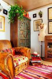 Beautiful Bohemian living style displaying artsy rug designs with exotic pattern Image 30