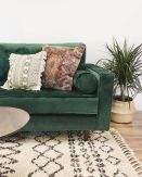 Beautiful Bohemian living style displaying artsy rug designs with exotic pattern Image 31