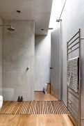 Most savvy bathroom designs with elegant wood finish to give more natural feel Image 6