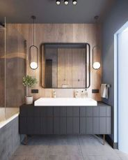 Timeless bathroom designs with wood accents enhancing more natural vibes Image 36