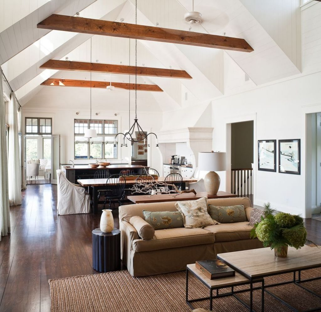 Best vaulted ceiling designs the will give your home airier vibes and incredible beauty Image 1