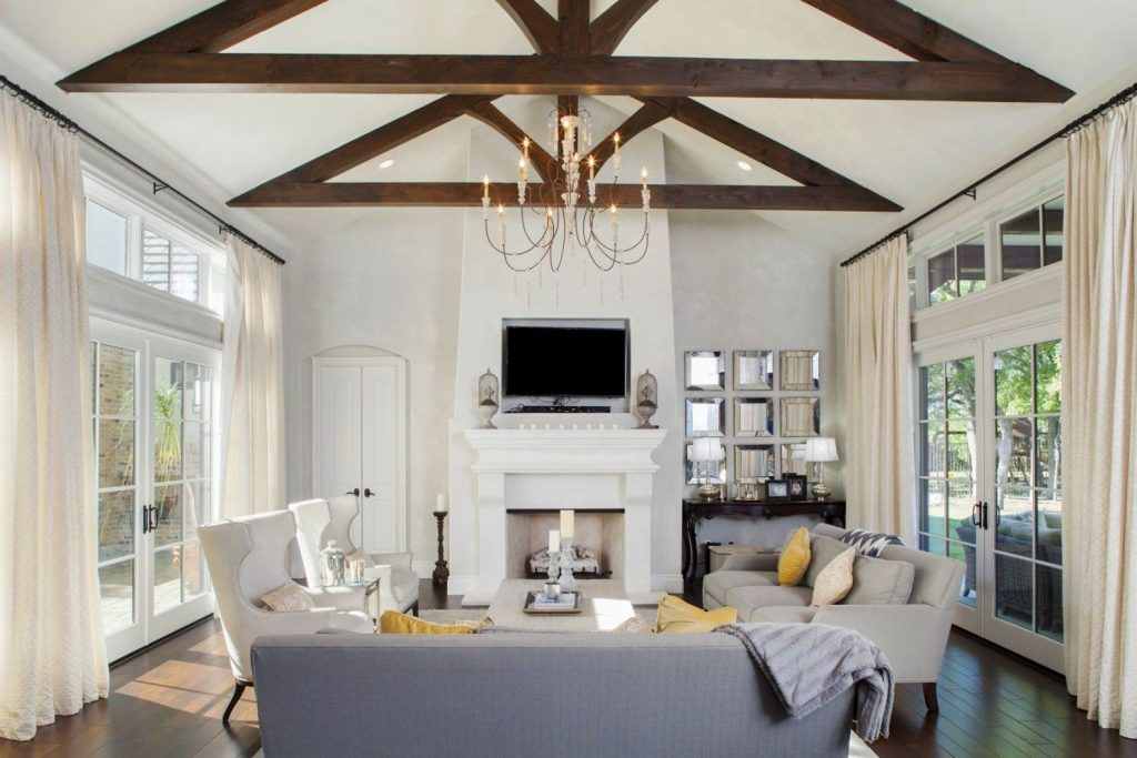 Best vaulted ceiling designs the will give your home airier vibes and incredible beauty Image 5