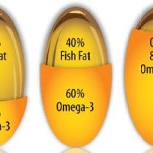 minyak ikan perbandingan