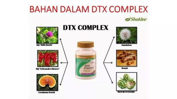 kandungan herba dalam dtx complex