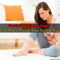 Sakit Gastrik Teruk: 6 Penawar Segera