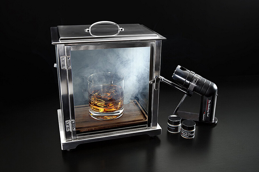 Cocktail Smoker with Smoking Gun