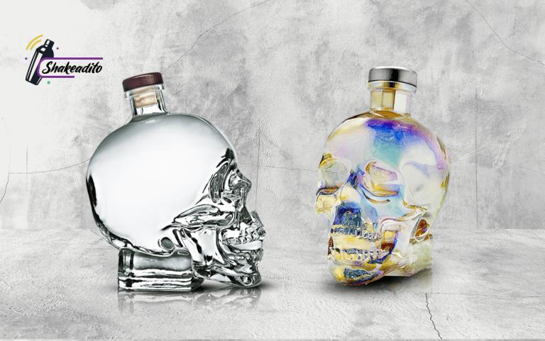 Botellas de Crystal Head Vodka