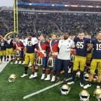 ND Football: The Irish Ground The Falcons