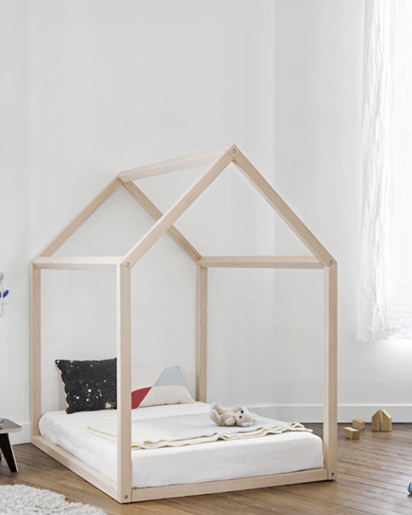 des lits cabanes pour les enfants chez