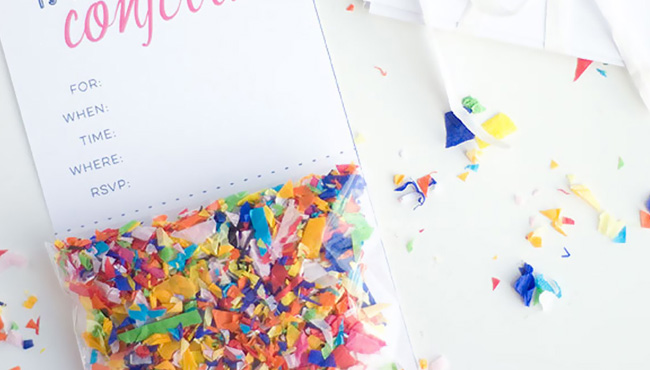 invitation ou carte d anniversaire diy