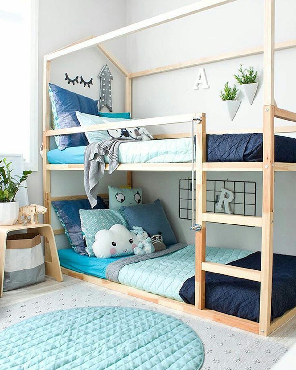 idee deco chambre enfant lit maison