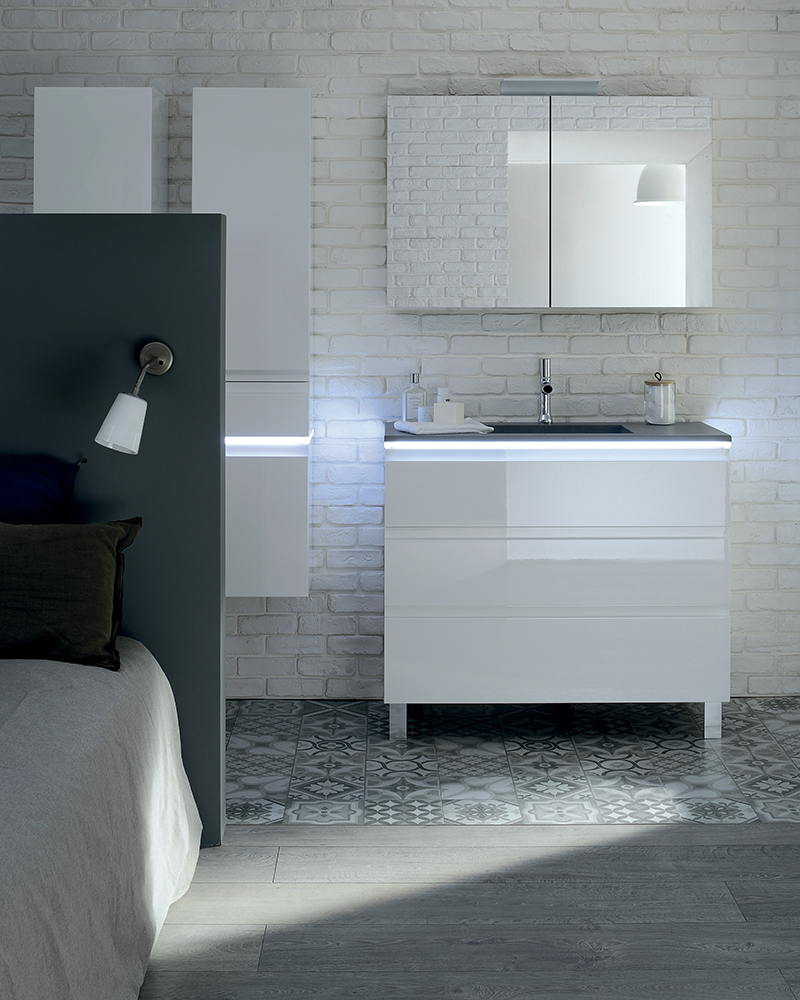 salle de bain esprit industriel