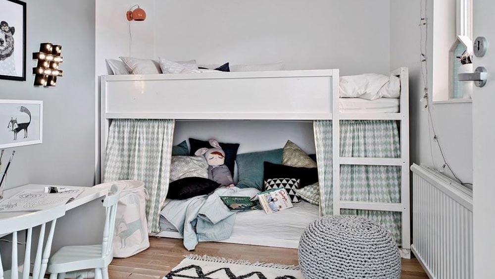 Ikea Hack Personnaliser Le Lit Evolutif Kura Shake My Blog