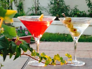 Backyard Martinis