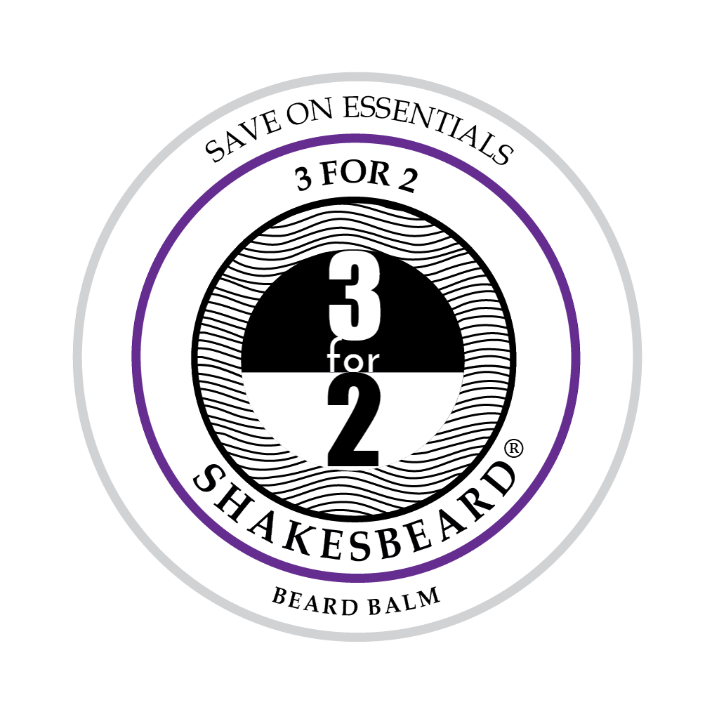 SHAKESBEARD® Beard Care 3 for 2 Beard Balm