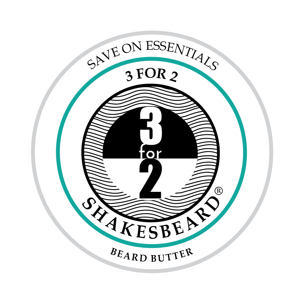 SHAKESBEARD® Beard Care 3 for 2 Beard Butter