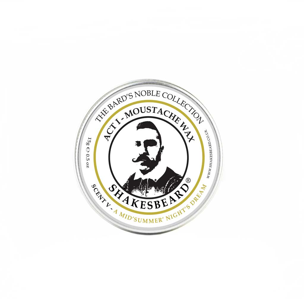 Sweet Orange & Neroli Moustache Wax 15g A Midsummer Nights Dream
