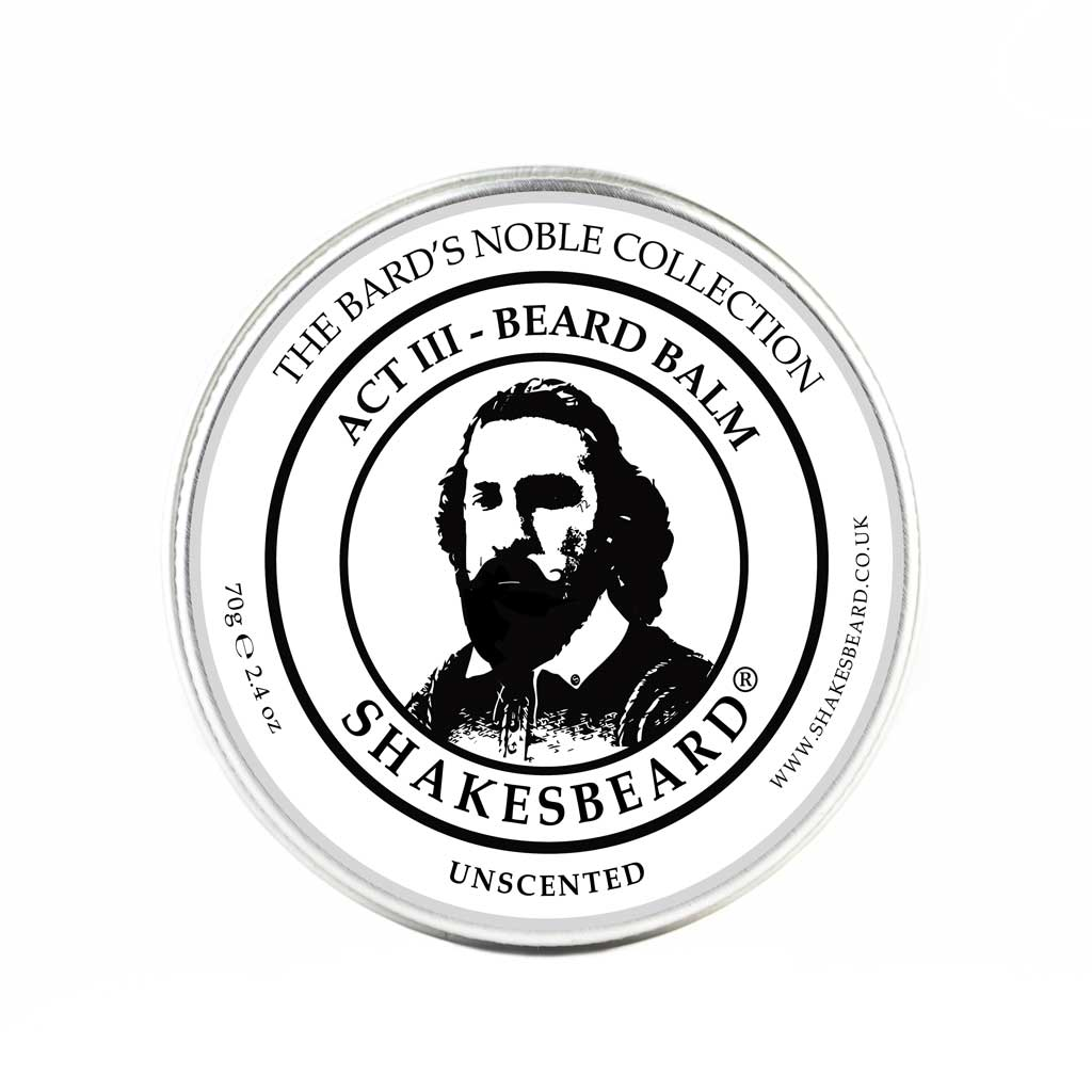 Unscented Beard Balm 70g
