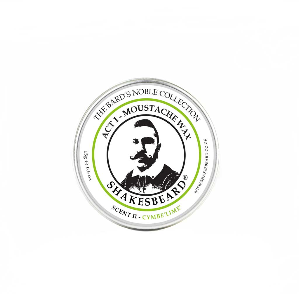 Vibrant Bergamot Citrus Lemon Zesty Lime Moustache Wax 15g Cymbelime