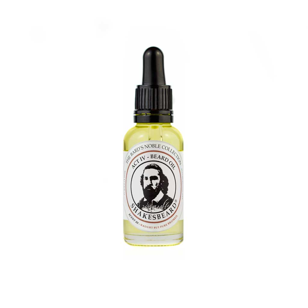 Classic Cedarwood Beard Oil 30ml Naught But Pure Bromeo