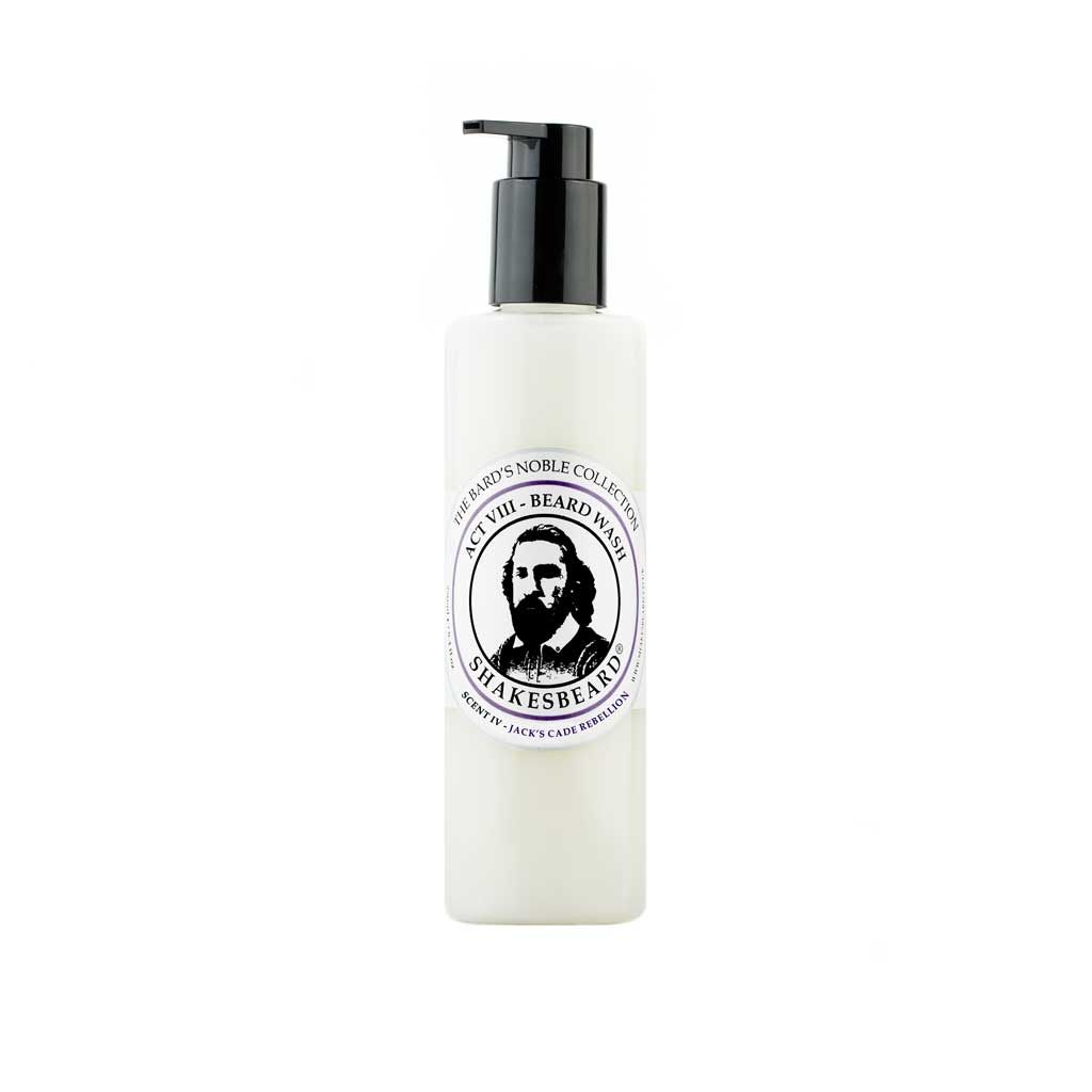 Rich Fruity Fig & Blackcurrant Beard Wash 250g Jacks Cade Rebellion