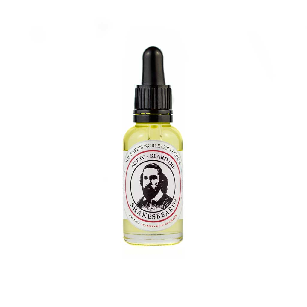 Woody Mixed Berry Beard Oil 30ml The Berry Wives Of Windsor