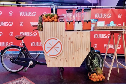 Shakes on Wheels Smoothiefiets | Smoothiebar