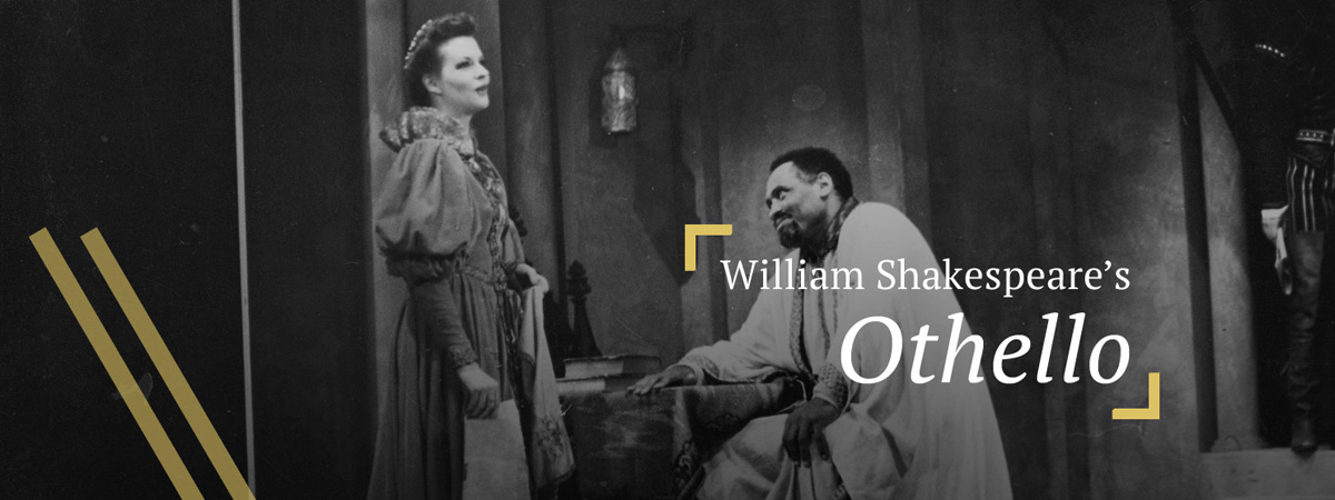 [Paul Robeson in Othello, Act I Scene 4] (c.1944)